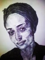 Charcoal Portrait courtesy of Stefan Harris